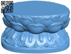 Brackets shaped like a lotus B005785 download free stl files 3d model for 3d printer and CNC carving