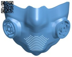 Breathing mask B005712 download free stl files 3d model for 3d printer and CNC carving