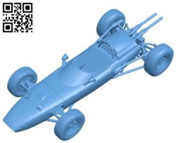 Car Honda RA 272 B005684 download free stl files 3d model for 3d printer and CNC carving