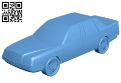 Car Moskvich-2142 B005687 download free stl files 3d model for 3d printer and CNC carving