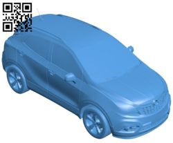 Car Opel Mokka 2013 B005483 file stl free download 3D Model for CNC and 3d printer