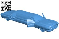Car fallout limousine B005490 file stl free download 3D Model for CNC and 3d printer