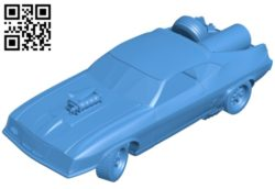 Car frantic max B005651 download free stl files 3d model for 3d printer and CNC carving