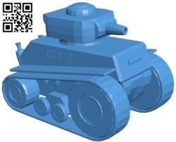 Cartoon Tank B005421 file stl free download 3D Model for CNC and 3d printer