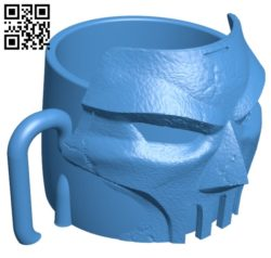 Casey Jones Mug B005268 file stl free download 3D Model for CNC and 3d printer