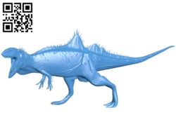 Concavenator Dinosaur B005373 file stl free download 3D Model for CNC and 3d printer