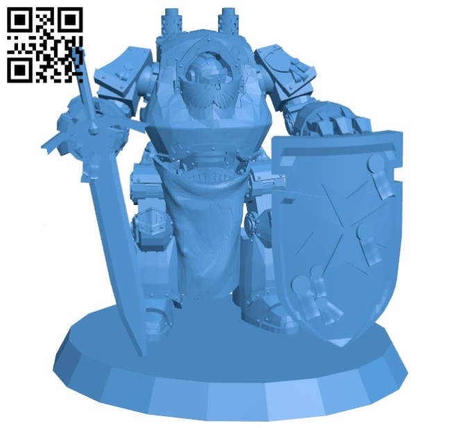 Contemptor dreadnought B005383 file stl free download 3D Model for CNC and 3d printer