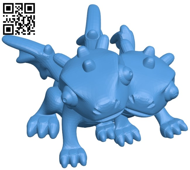 Couple Dragons B005367 file stl free download 3D Model for CNC and 3d printer