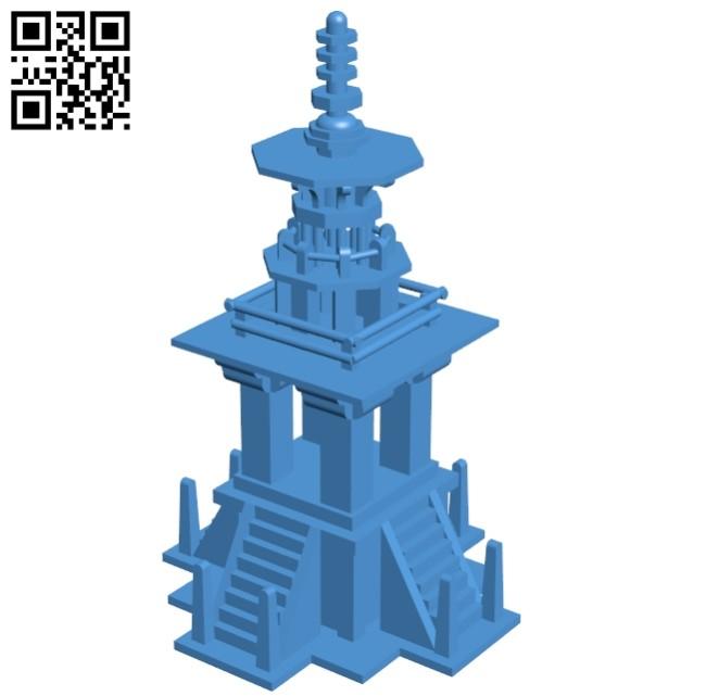 Dabotap - House B005430 file stl free download 3D Model for CNC and 3d printer