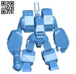 Destroid spartan B005416 file stl free download 3D Model for CNC and 3d printer