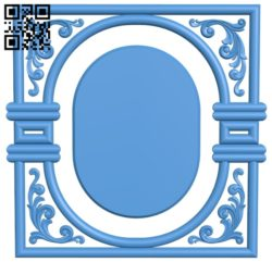 Door pattern design A003891 wood carving file stl free 3d model download for CNC