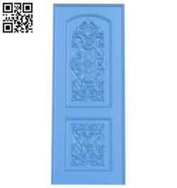 Door pattern design A003924 wood carving file stl free 3d model download for CNC
