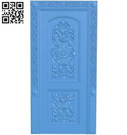 Door pattern design A003925 wood carving file stl free 3d model download for CNC