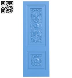 Door pattern design A004024 wood carving file stl free 3d model download for CNC