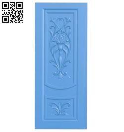 Door pattern design A004026 wood carving file stl free 3d model download for CNC