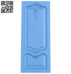 Door pattern design A004027 wood carving file stl free 3d model download for CNC