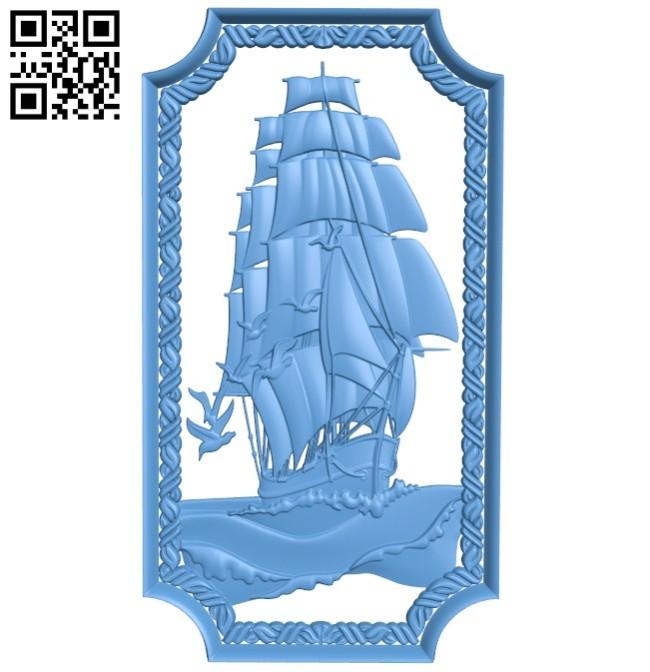 Door pattern design - ship A004187 download free stl files 3d model for CNC wood carving