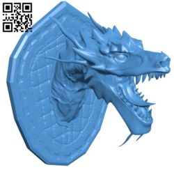 Dragon trophy B005419 file stl free download 3D Model for CNC and 3d printer