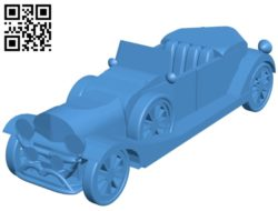 Duesenberg Car Model J B005425 file stl free download 3D Model for CNC and 3d printer