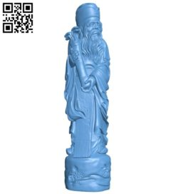 Eastern religious statue B005775 download free stl files 3d model for 3d printer and CNC carving
