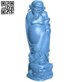 Eastern religious statue B005777 download free stl files 3d model for 3d printer and CNC carving