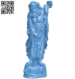Eastern religious statue B005779 download free stl files 3d model for 3d printer and CNC carving