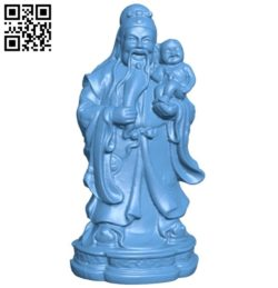 Eastern religious statue B005783 download free stl files 3d model for 3d printer and CNC carving