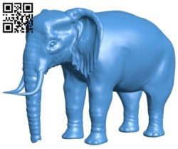 Elephant B005474 file stl free download 3D Model for CNC and 3d printer