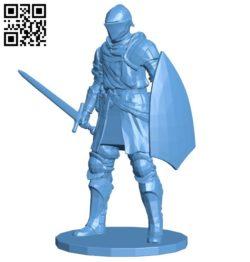 Elite knight dark souls B005749 download free stl files 3d model for 3d printer and CNC carving