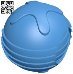 Fallout pulse grenade B005413 file stl free download 3D Model for CNC and 3d printer