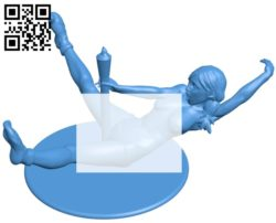 Female B005379 file stl free download 3D Model for CNC and 3d printer