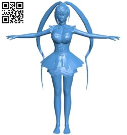 Female B005381 file stl free download 3D Model for CNC and 3d printer