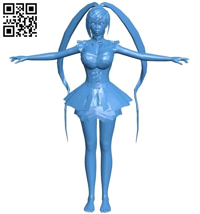 Female B005381 file stl free download 3D Model for CNC and 3d printer