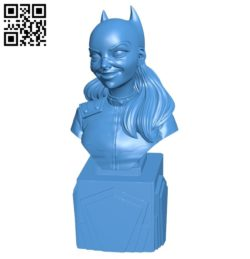 Female Cat person B005486 file stl free download 3D Model for CNC and 3d printer