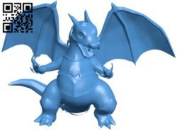 Fire Dragon B005681 download free stl files 3d model for 3d printer and CNC carving