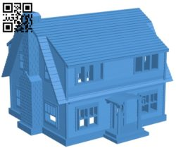 Freddy house B005573 download free stl files 3d model for 3d printer and CNC carving