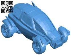 Gizmo car B005608 download free stl files 3d model for 3d printer and CNC carving