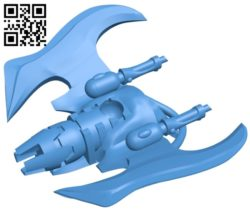 Glider ship B005529 free download stl file 3D Model for CNC and 3d printer