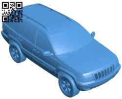 Grand Cherokee 2004 car B005437 file stl free download 3D Model for CNC and 3d printer