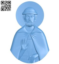 Icon Dmitry Donskoy A004173 download free stl files 3d model for CNC wood carving