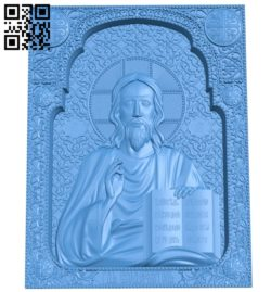 Icon Lord Almighty A004009 wood carving file stl free 3d model download for CNC