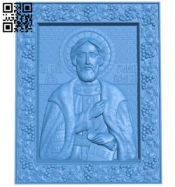 Icon Ryazan A004013 wood carving file stl free 3d model download for CNC