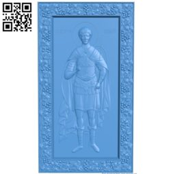 Icon of Dmitry Solynsky A003833 wood carving file stl free 3d model download for CNC
