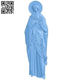 Icon of Justin A004180 download free stl files 3d model for CNC wood carving
