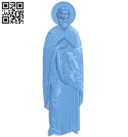Icon of Kupriyan A004179 download free stl files 3d model for CNC wood carving