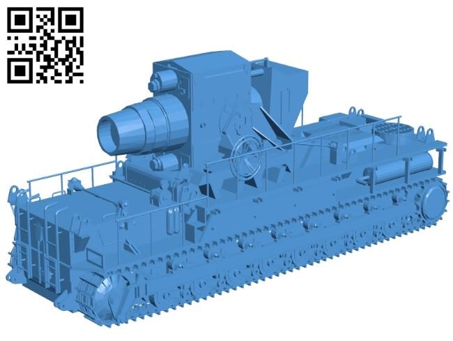 Karl Gerat - Truck B005313 file stl free download 3D Model for CNC and 3d printer