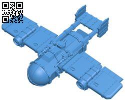 Landa aircraft B005269 file stl free download 3D Model for CNC and 3d printer