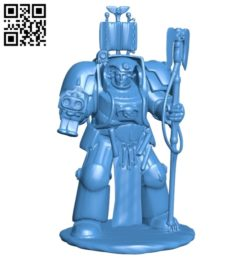 Librarian Terminator B005494 file stl free download 3D Model for CNC and 3d printer
