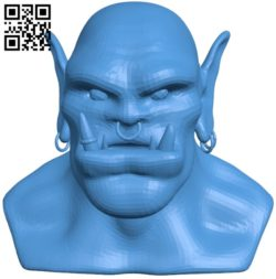 Malicious orc B005323 file stl free download 3D Model for CNC and 3d printer