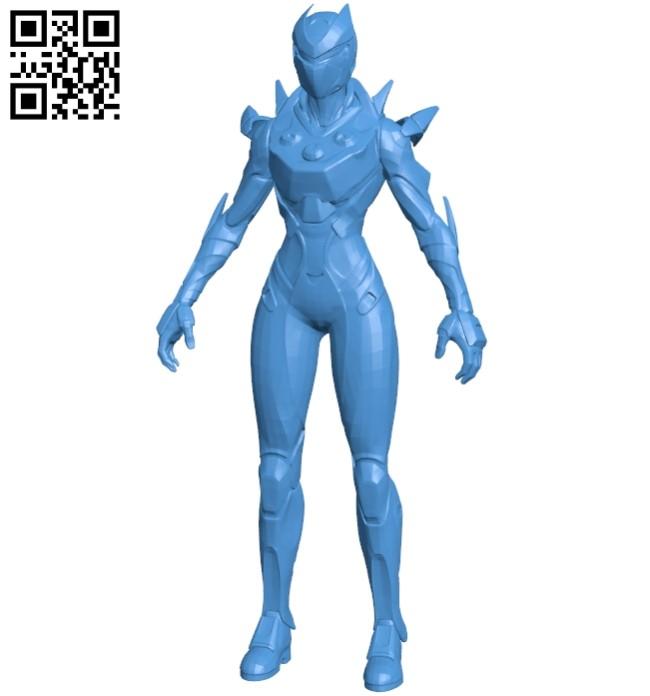 Miss Oblivion B005368 file stl free download 3D Model for CNC and 3d printer